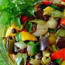 Salada Picante de Berinjela:Fácil e Delicioso