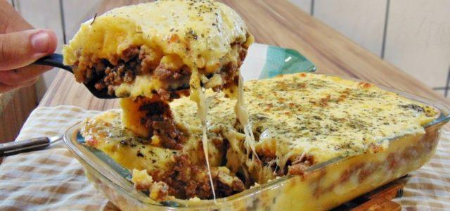 Escondidinho de Batata  e Carne Moída