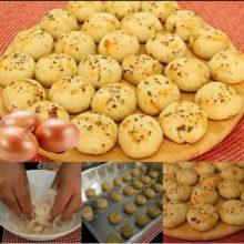 Biscoitinhos de Cebola
