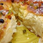 Banana ao forno com queijo e canela